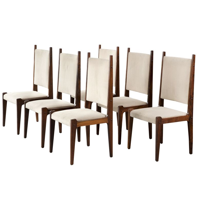 Set of Six chairs by Sergio Rodrigues