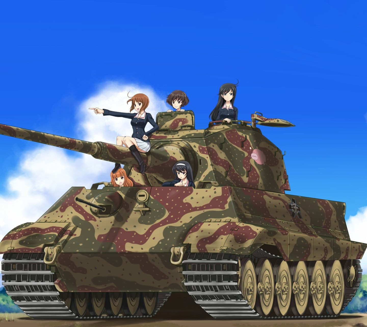 Girls Und Panzer Mobile Phone Wallpaper Id 54277 Anime
