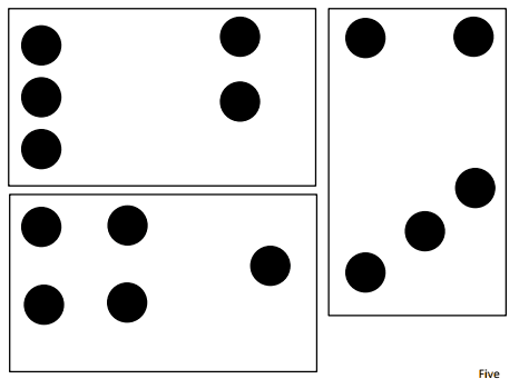 0cdf6d901814 Dot Cards to Nine.pdf Number Talks | Number Talks | Math talk, Math ...