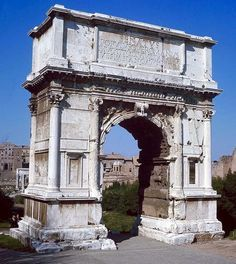 Arch of Titus (with famous Menorah Relief)