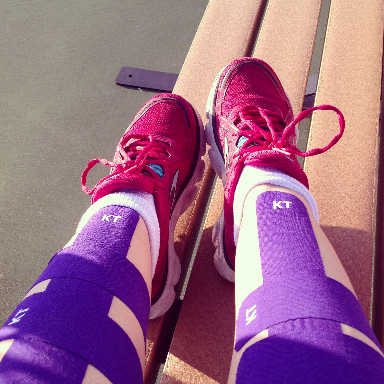 Kt tape for anterior shin splints kttape shinsplints
