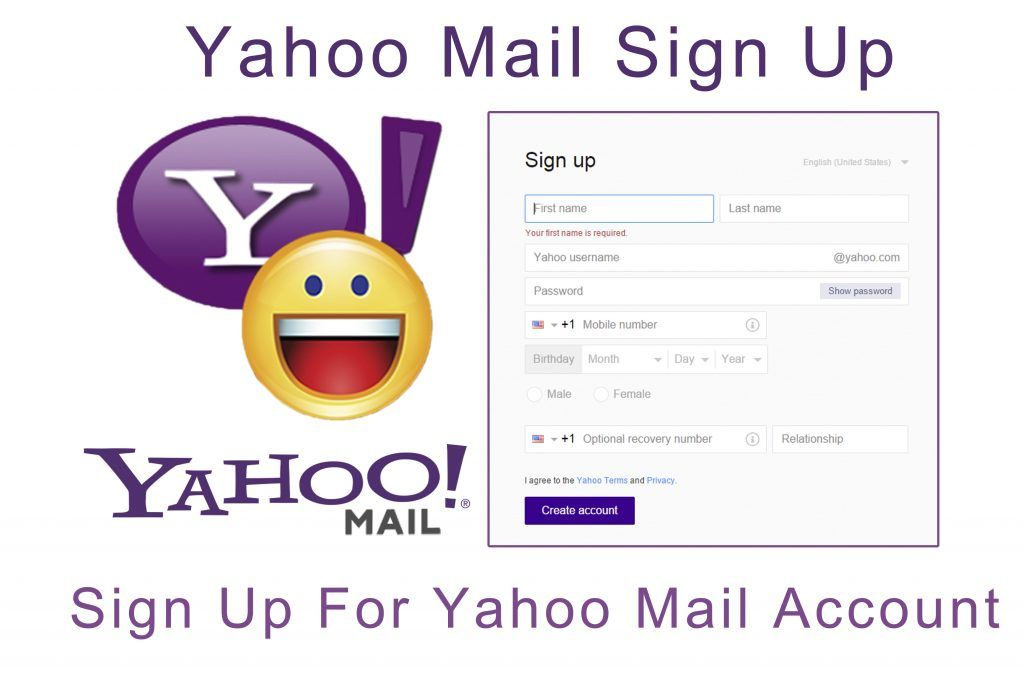 Yahoo Mail Sign Up Sign Up For Yahoo Mail Account Kikguru Mail Account Mail Sign Mail Yahoo