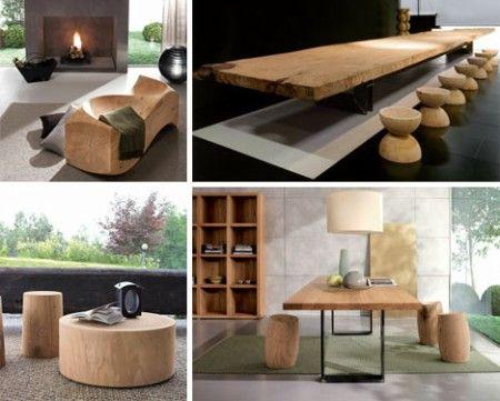 Muebles de madera modernos - DecoraHOY Architecture Pinterest