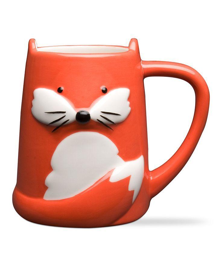 Cute fox mug #product_design