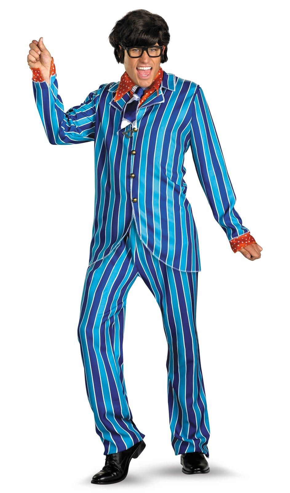 b135c95b81e8 Austin Powers Carnaby Street Blue Suit Deluxe Adult Costume from  Buycostumes.com