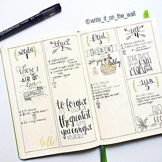 Love this bullet journal layout | Bullet journal ideas ...