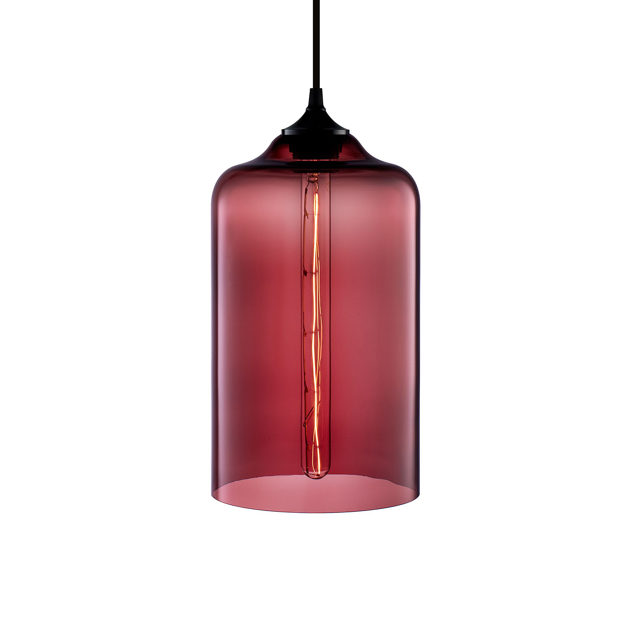 Bella Modern Pendant Light In Plum Modernlight Modern Pendant Light Niche Modern Pendant Lighting Collections