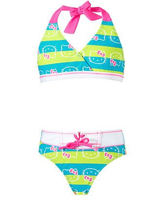 Triangle Kids And Hello Kitty Bikini SwimwearLittle Girls 0P8nkwO