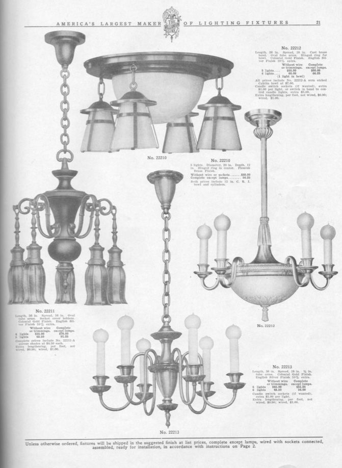 Circa 1910. Vintage and Antique Chandeliers Wall Sconces  sc 1 st  Pinterest & R.Williamson and Co. Circa 1910. Vintage and Antique Chandeliers ...