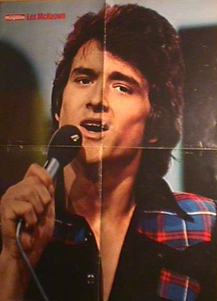 1 german poster BAY CITY ROLLERS LESLIE MCKEOWN BCR SINGER