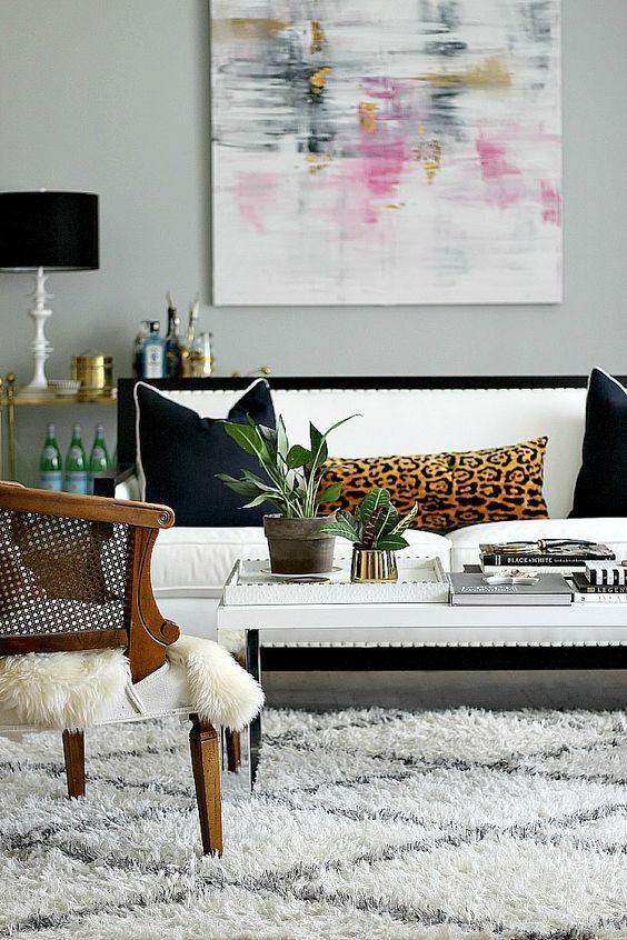 Imprims lopards | Cheetah | Home Decor, Living room ...