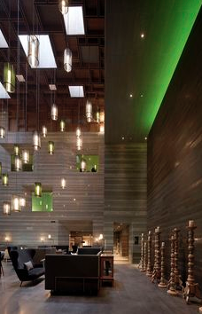 Interior Design Magazines Best Of The Year Foreign Hotel Le Meridien Zhengzhou China