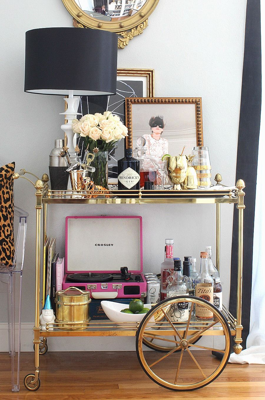 Bar cart styling ideas and tips bar cart stylinu pinterest bar