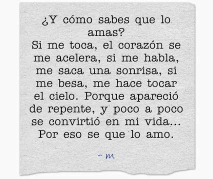 Frases De Amor Frases Pinterest Frases De Amor Lo Amo Y Amor