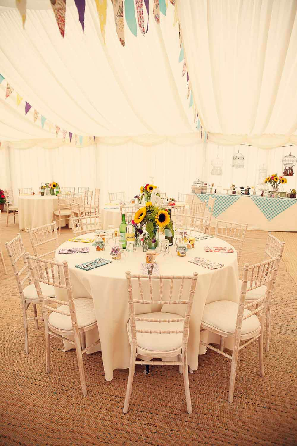 50s wedding decoration ideas  A Quintessentially English Country Garden Wedding Liz u Blake