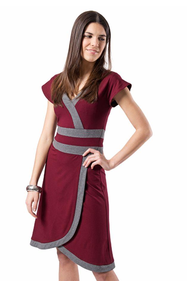 Weiteres - Kleid »Rachel«, bordeaux - ein Designerstück von Costura bei DaWanda