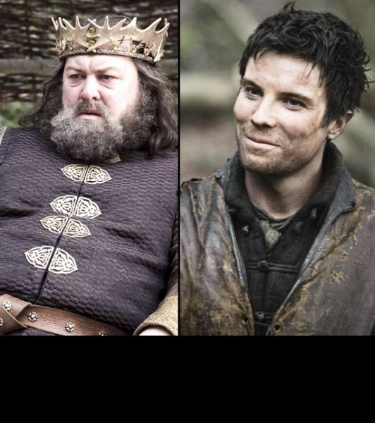 Robert Baratheon: The Late King Robert Baratheon (left) Had Many