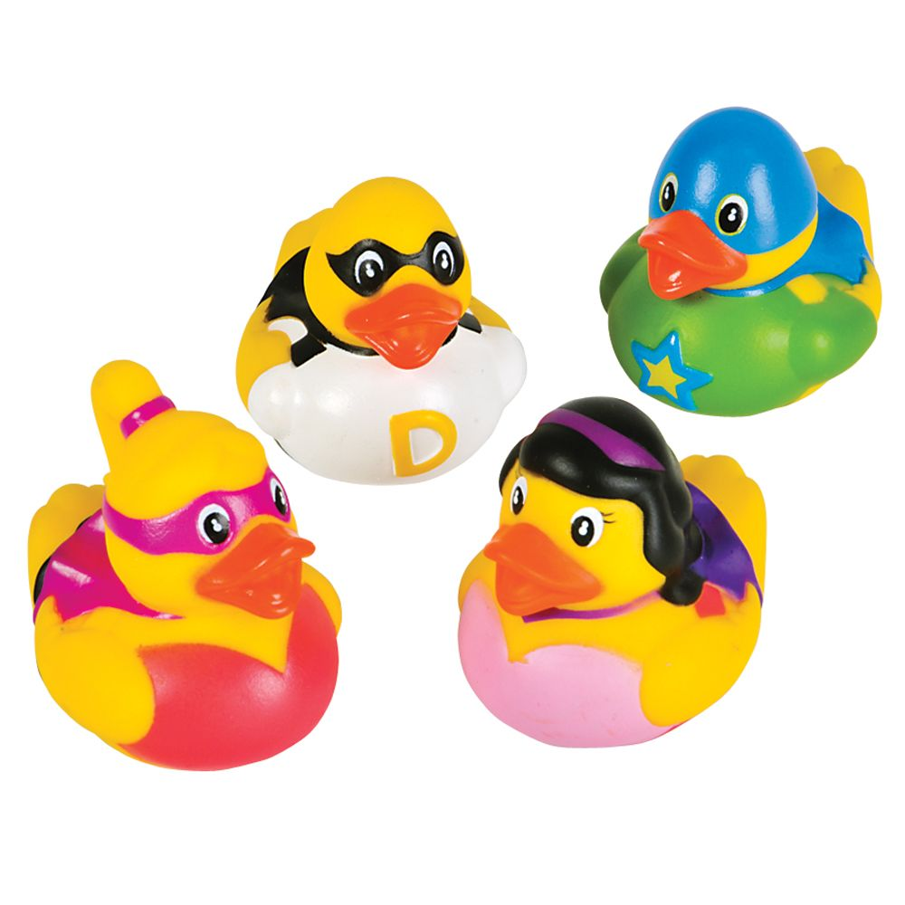 Super Hero Rubber Ducks of different hero designs. The super hero ...
