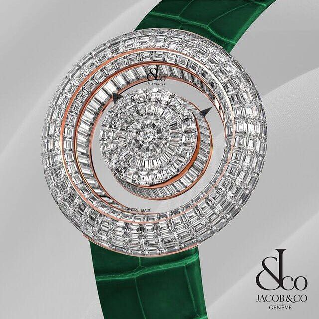Jacob & Co's Brilliant Mystery Baguette. #jacobandco #mysterybaguette
