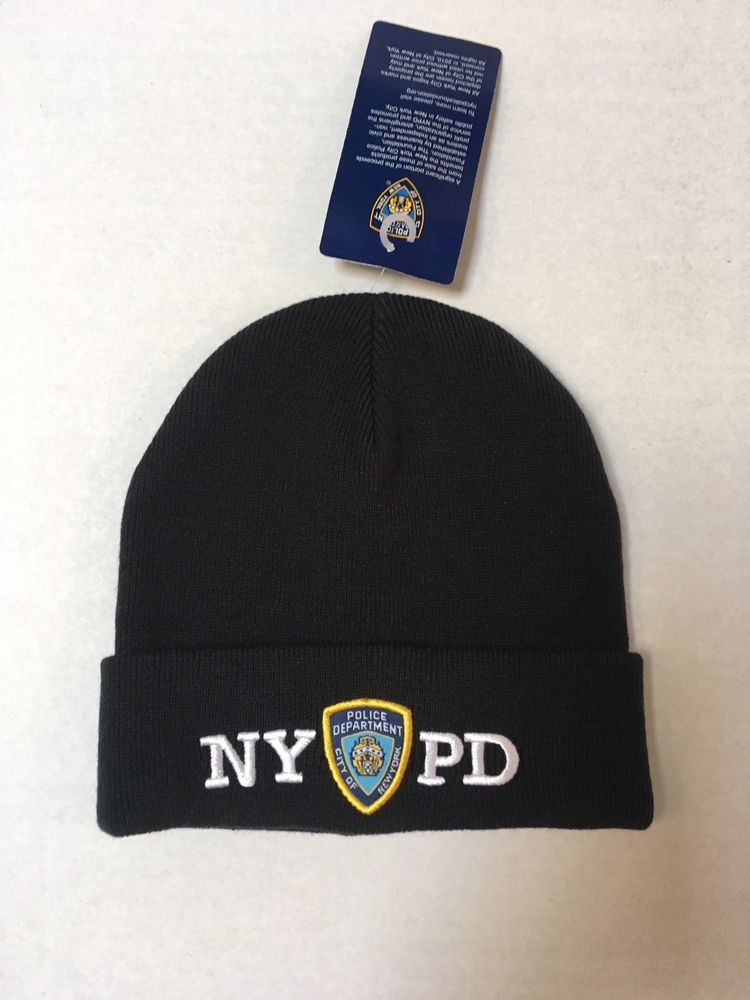 NYPD Winter Hat (Officially Licensed by the New York Police Department)   fashion   81e224605e2d