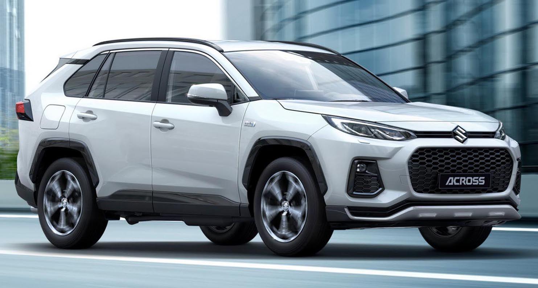 سوزوكي أكروس 2021 الجديدة تماما كروس أوفر عصرية ص مم ت على أساس تويوتا راف4 موقع ويلز Plug In Hybrid Suv Suv Suzuki News