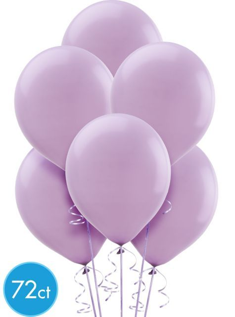 Lavender Balloons 72ct - Party City $7 99 | Party - 3rd