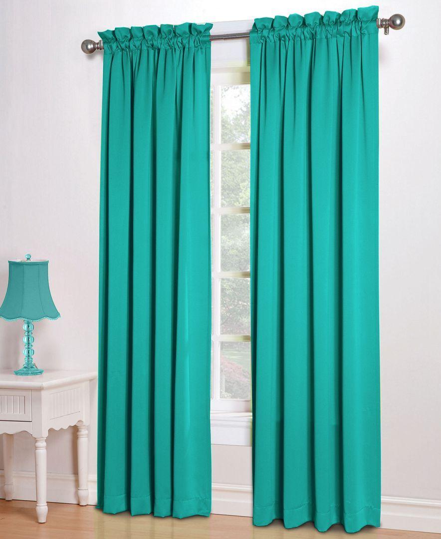 Grant 54 X 63 Rod Pocket Top Curtain Panel Panel Curtains