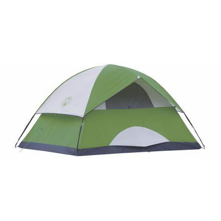 Coleman Sundome 4 Person Family C&ing Hiking Dome Tent w/ Rainfly | 8u0027 x  sc 1 st  Pinterest & Coleman Sundome 4 Person Family Camping Hiking Dome Tent w ...