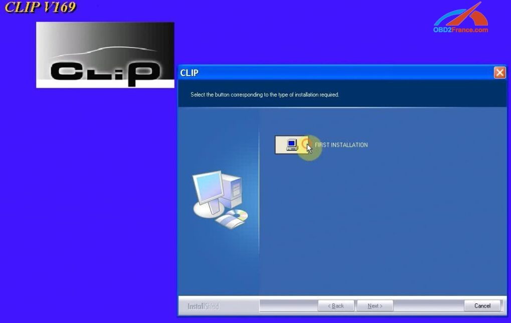 Steps) How to install Renault Can Clip V169 on Windows XP