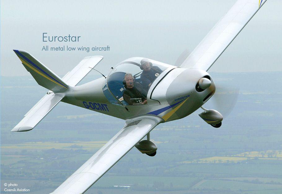 Team Eurostar EV97 one of Flylights School Fixed Wing