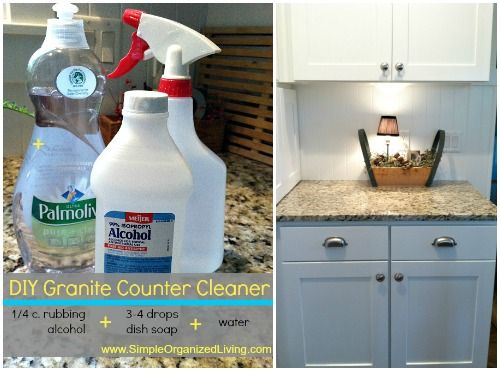 Homemade granite cleaner do it yourself pinterest granite homemade granite cleaner diy solutioingenieria Images