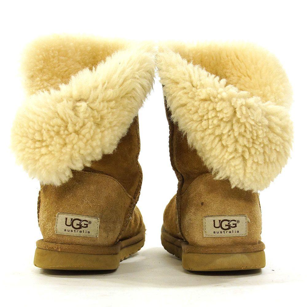 a231d79bfcaf0 90s UGG Boots / Vintage 1990s Fold Down Sheepskin UGGs / Brown Suede ...