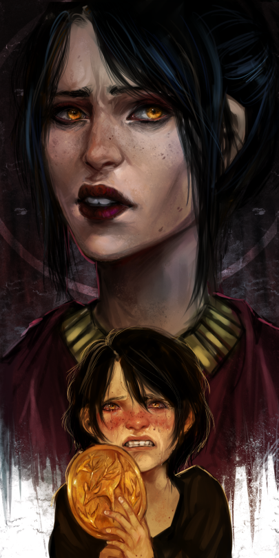 Morrigan And Her Younger Self A Lot Of People Keep Saying This Is