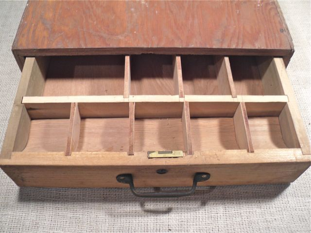 Vintage Wood Cash Drawer Rustic Cash Box Buildingrefinishing
