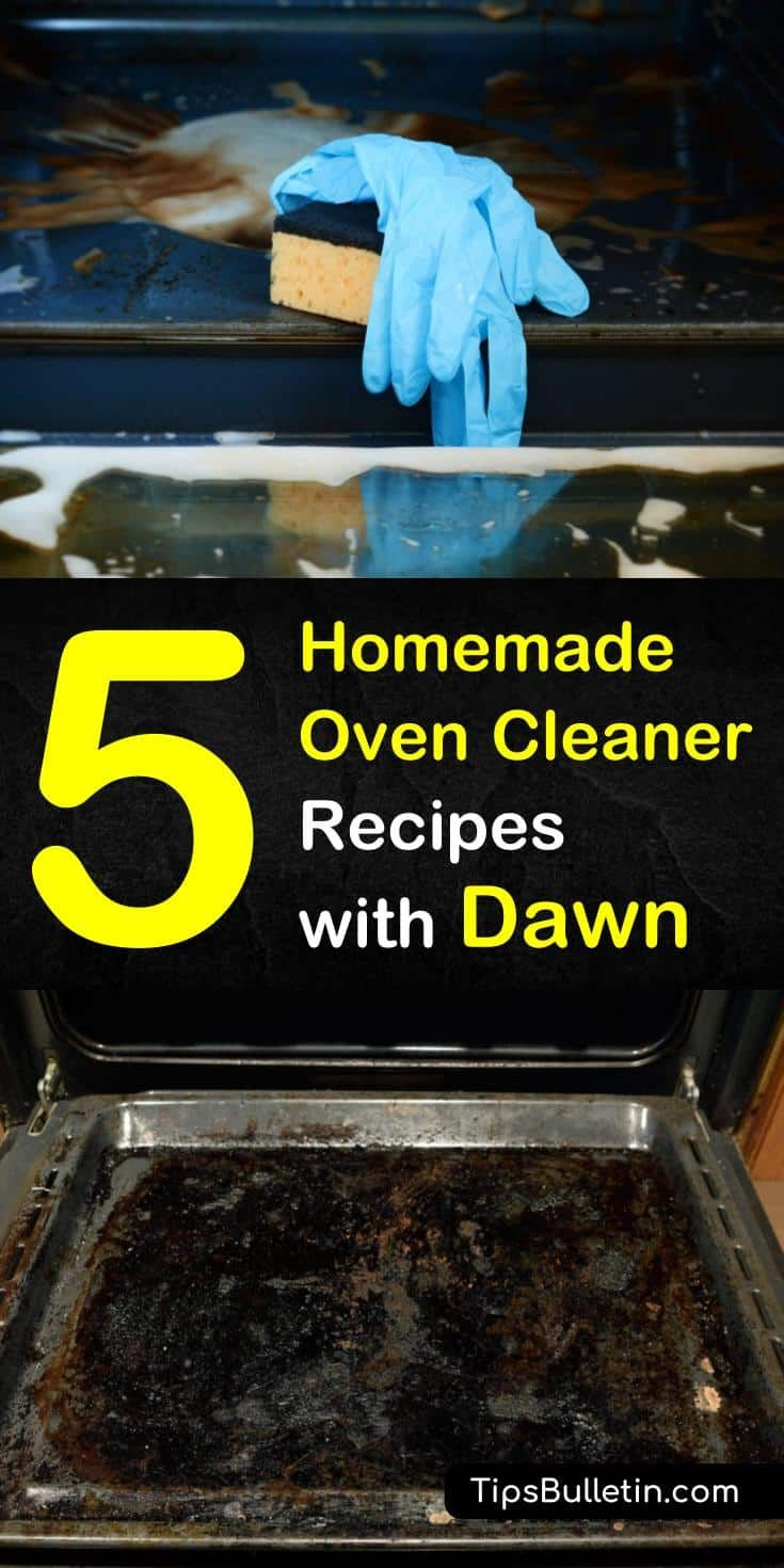 5 AllNatural Oven Cleaners with Dawn Homemade oven