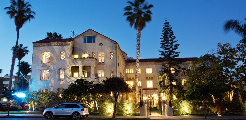 Palihouse Santa Monica Los Angeles Ca Luxury Boutique Hotel