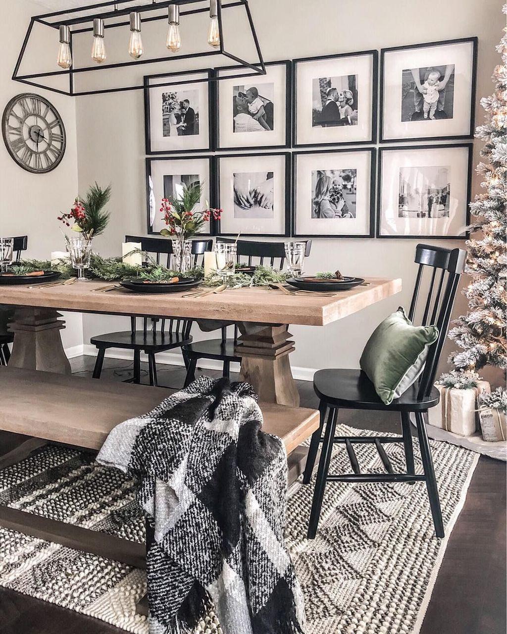42 Classy Black Dining Room Design Ideas