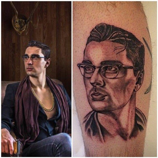 Portret Tattoo Black And Grey Tattoo Stay Classy Tattoo