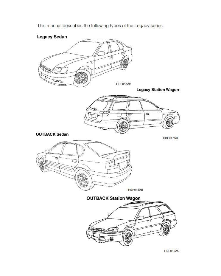 Subaru Legacy 2003 Owner's Manual has been published on