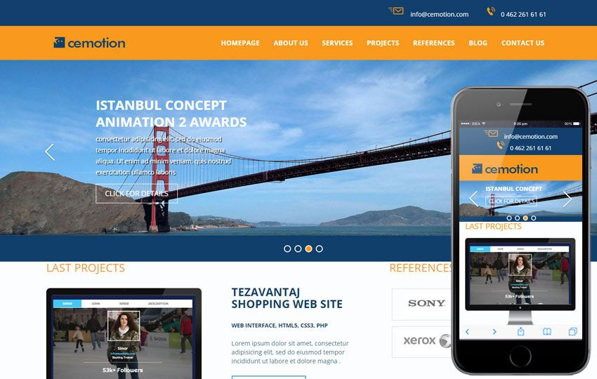 Mobile Website Templates Corporate Business Mobile Website Templates  Ideas For The House