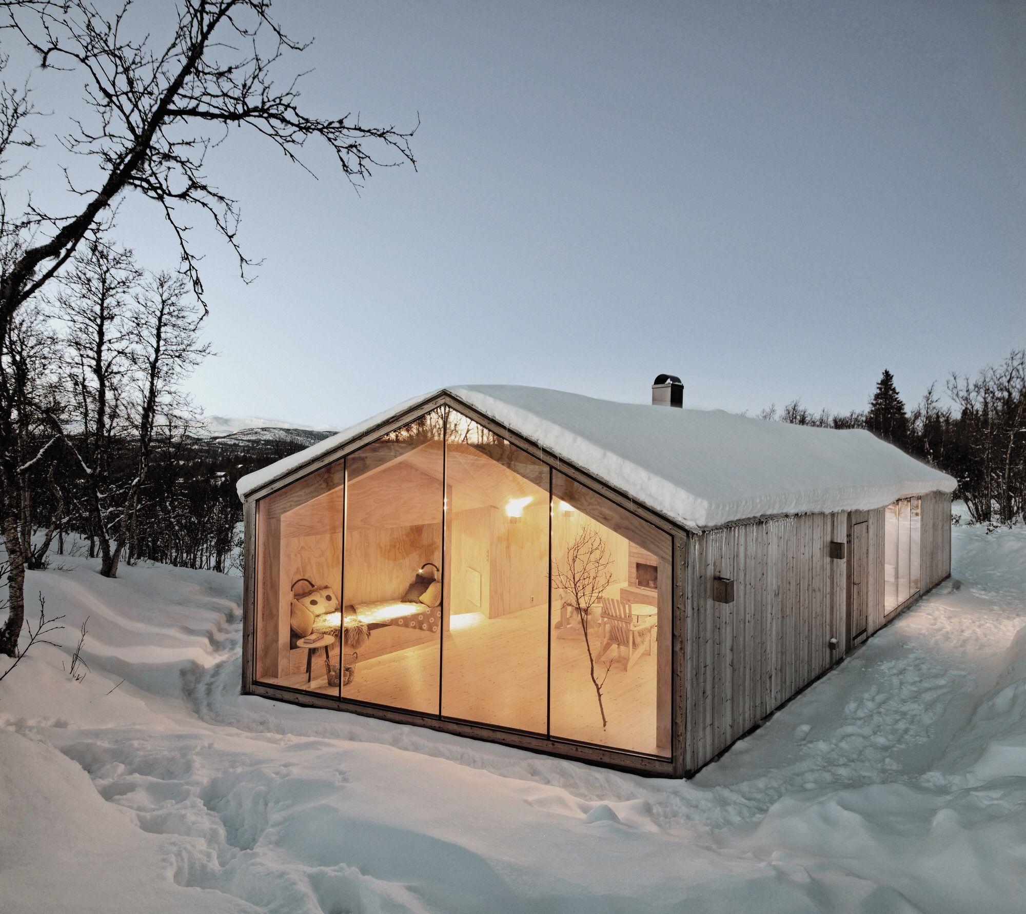 Nordic Winter Home Inspirado 113 Pinterest Casas Casas De  # Muebles Excell Aguascalientes