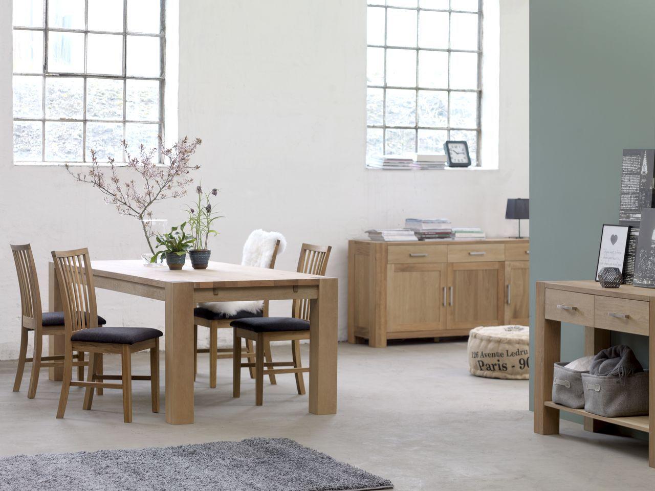 SILKEBORG tafel + SILKEBORG stoelen + SILKEBORG sidetable + ...