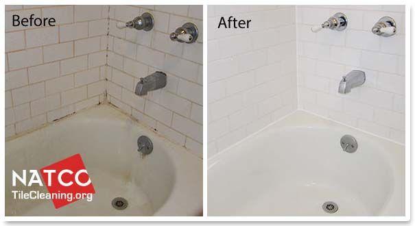 Before And After Cleaning A Bathtub Bathtub Clean Bathtub