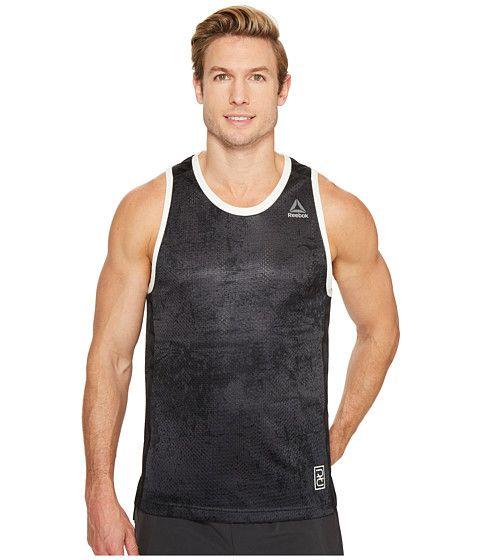 Men/'s Reebok Noble Fight Boxing Tank Top Training Workout Martial Arts Vest