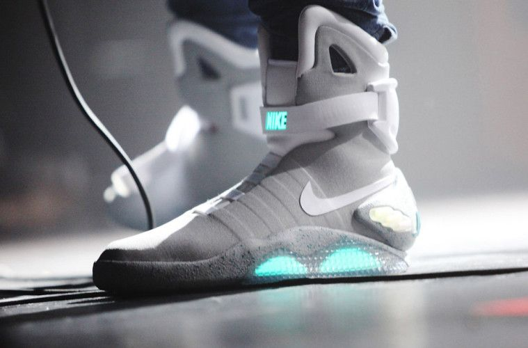 Nike MAG with Power Laces are in NYC | Nike mag, Nike