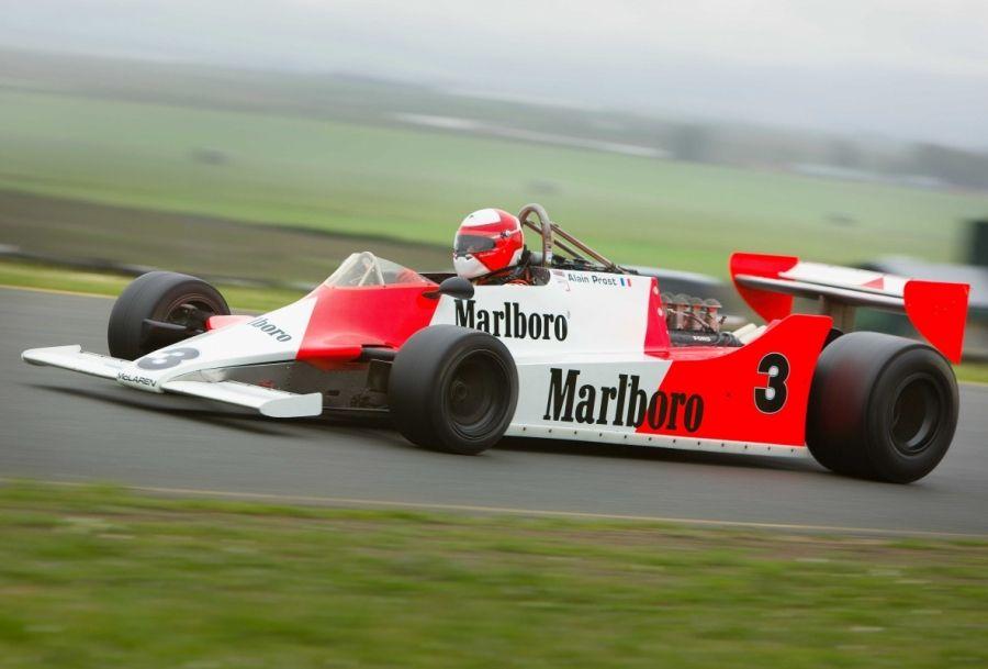RaceCarAds - Race Cars For Sale » Mclaren M29 F1 ex Alain Prost ...