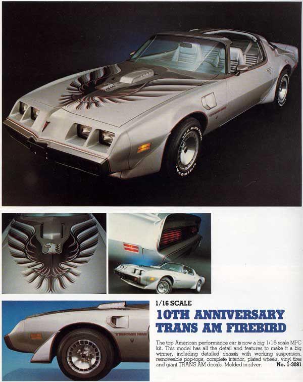 1 16 Scale Pontiac Trans Am Firebird