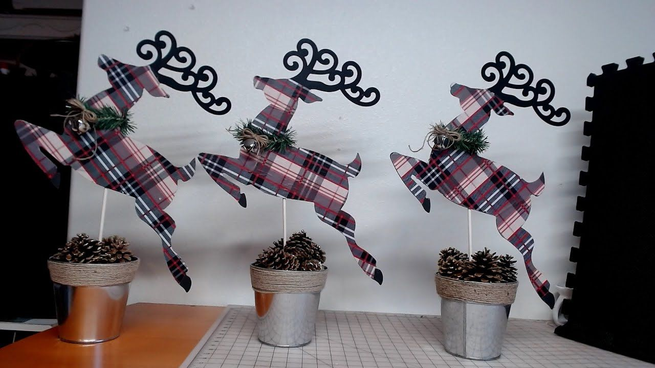 Dollar Tree DIY Rustic Christmas Reindeer YouTube