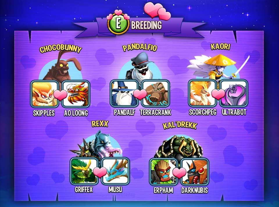 Monster Legends EPIC BREEDING Monster legends, Monster