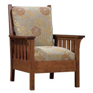 Gus Lounge Chair Stickley Mission Tudor Craftsman Style